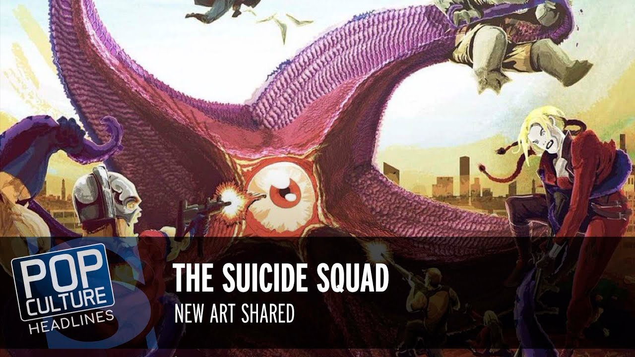 The Suicide Squad, The Flash Updates, Paper Girls, The Green Knight Posters. | Pop Culture Headlines
