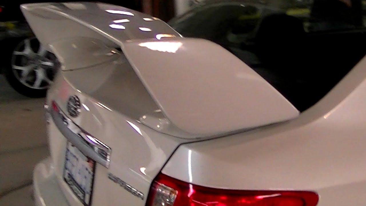 Car Spoiler Install - YouTube