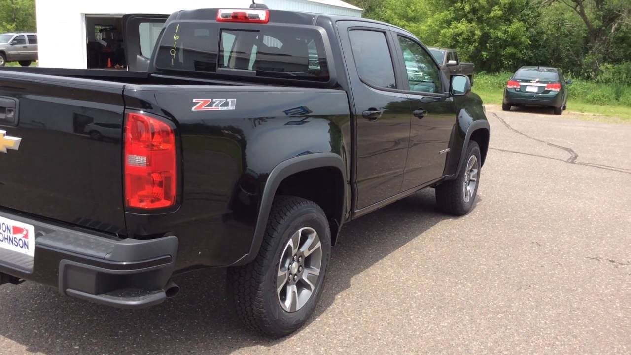 2016 chevrolet colorado z71 black at don johnson hayward for Don johnson hayward motors