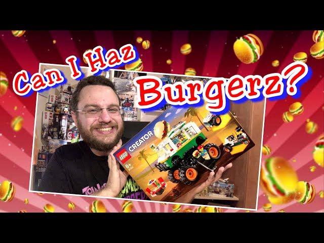 Tasty Burgers For Everyone!  - Monster Burger Truck (Lego Creator 3in1 31104)
