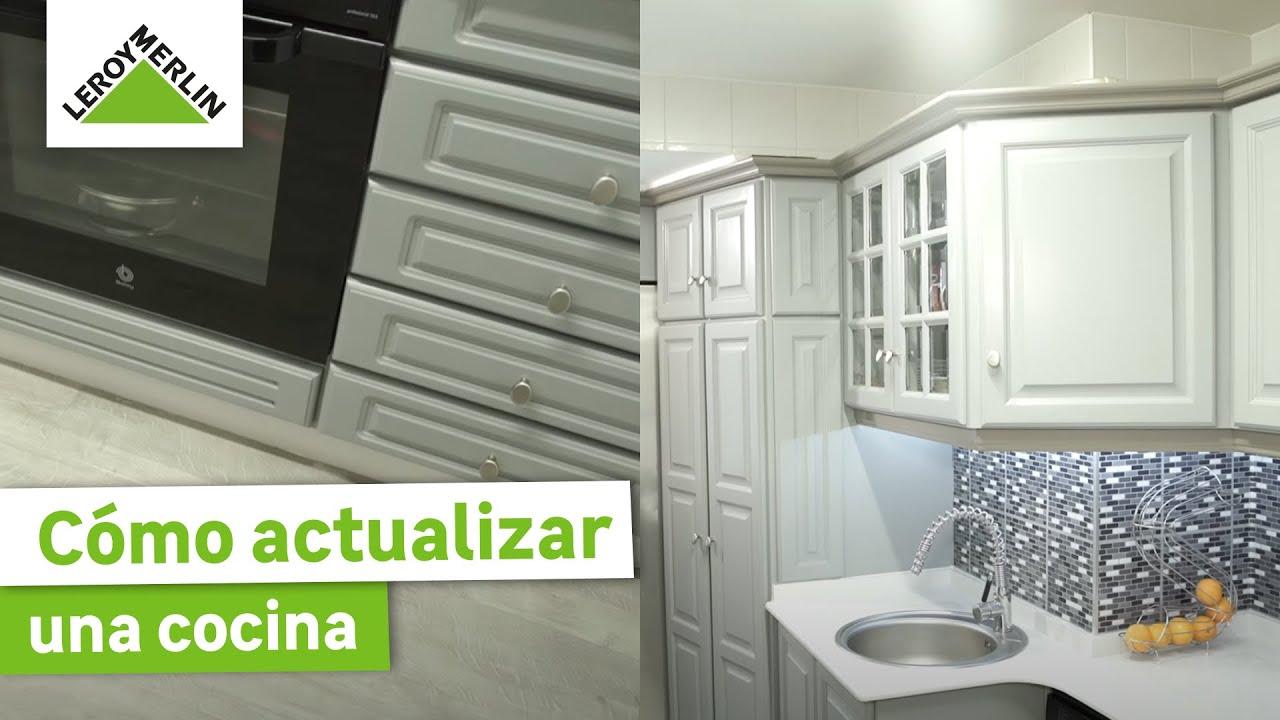 Bricoman a la moderna cocina de javier leroy merlin for Zocalo cocina leroy merlin