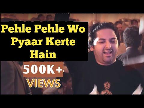 Pehle Pehle Wo Pyar Kertay Hain   Latest Video   Abid Meher Ali   Nadeem Abbas   Suristaan Music