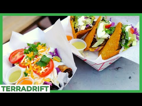 VEGAN Mexican Street Food?! Lick It Up in El Paso, Texas