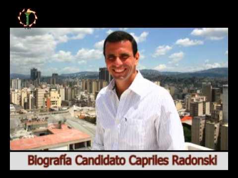 Biografía del Candidato Henrique Capriles Radonski