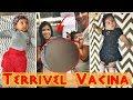 Terrível vacina dos 2 meses, Muita DOR, TV Nova! | Vlog Curiosa Juh