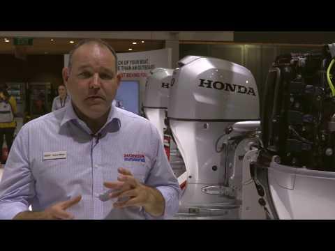 Honda Marine Outboard Technology - Melbourne Boat Show 2017