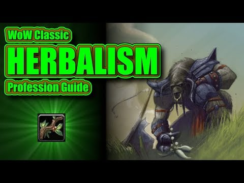 WoW Classic: Your Complete Herbalism Profession Guide And Leveling 1-300!