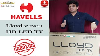 Lloyd 80 cm 32 Inches HD Ready LED TV 32HB240A Black Unboxing and Review in Hindi