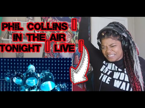 FIRST TIME LISTENING TO Phil Collins - In The Air Tonight ( LIVE )