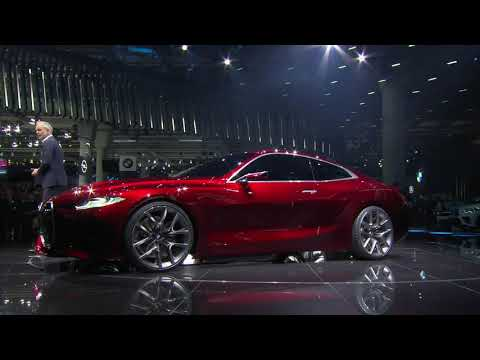 World Premiere BMW Concept 4 at 2019 IAA en