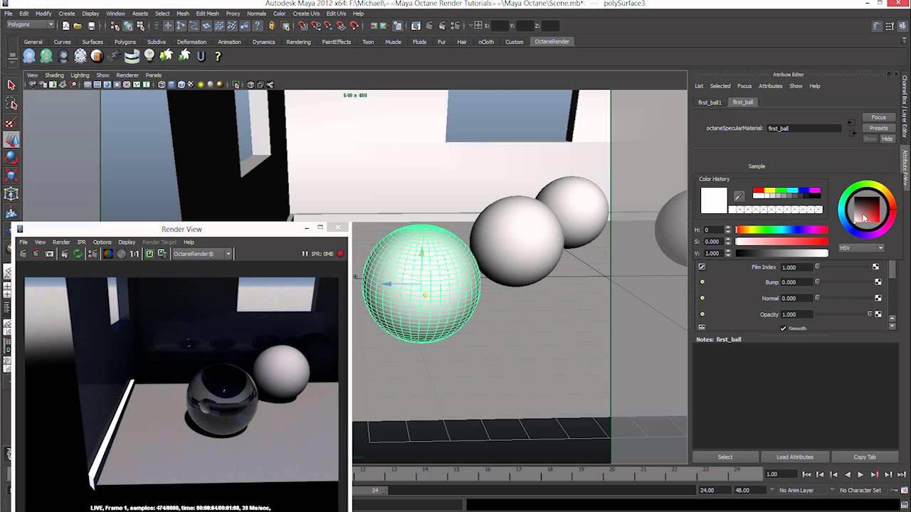 Maya octane render tutorial series 3 basic materials youtube maya octane render tutorial series 3 basic materials sciox Gallery