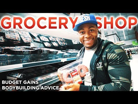 Grocery Shop & Bodybuilding Tips To Build Muscle...