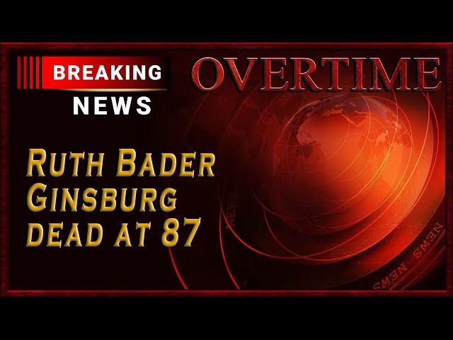Breaking News: Ruth Bader Ginsburg has Died