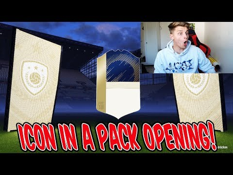 FIFA 18 - ICON WALKOUT IN A PACK OPENING!! 🔥😱⛔️- FifaGaming Ultimate Team Deutsch