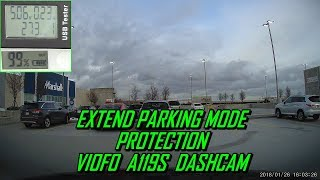 Extend Parking Protection A119S Dash Cam