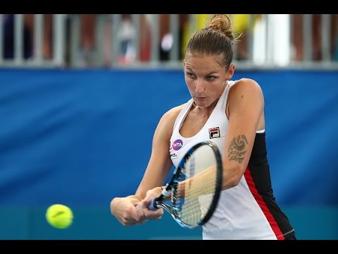2017 Brisbane International Quarterfinals | Karolina Pliskova vs Roberta Vinci | WTA Highlights