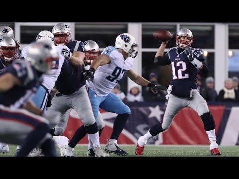 Titans vs. Patriots 2018 AFC Divisional Game Highlights   NFL