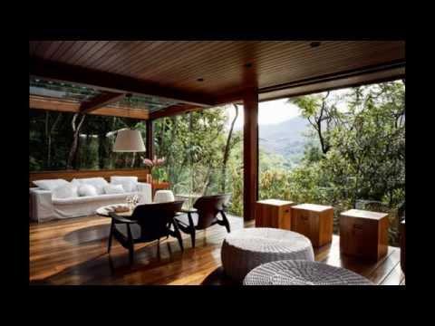 Деревянная веранда. Дизайн интерьера веранд обшитых деревом.