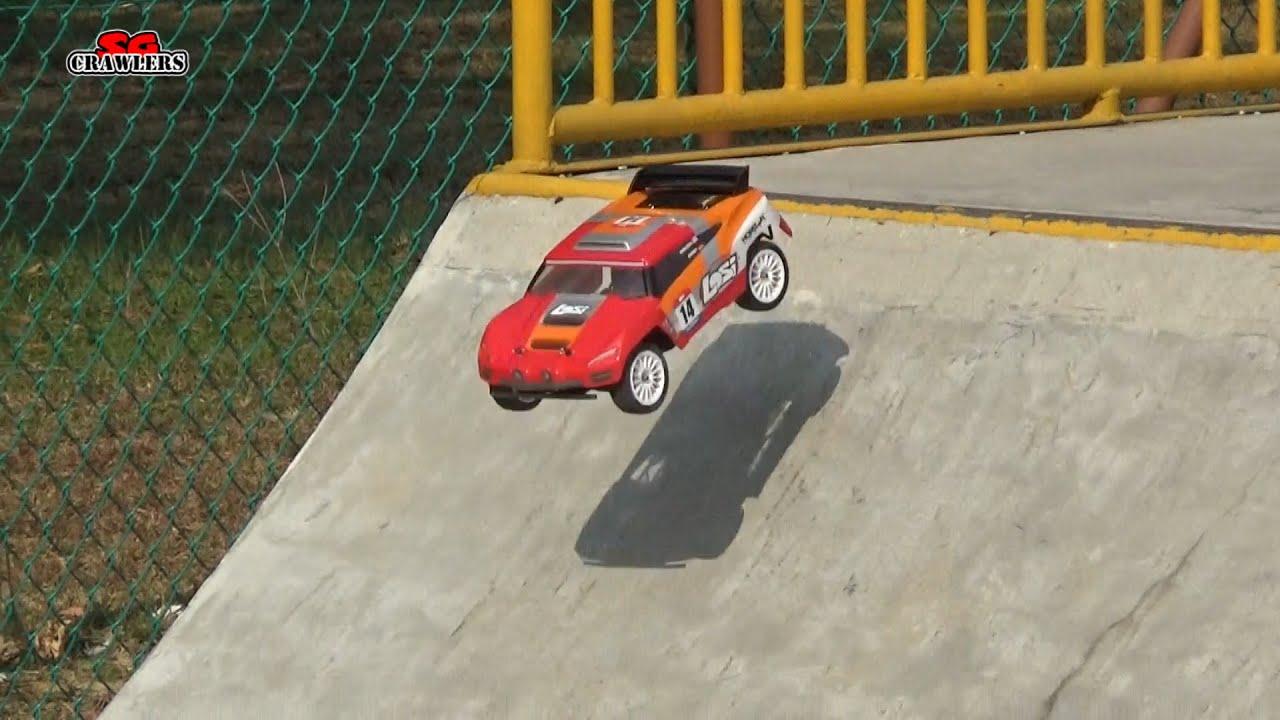 LOSI 1 14 Mini Desert Truck 4WD RTR LOS Skate Park bash