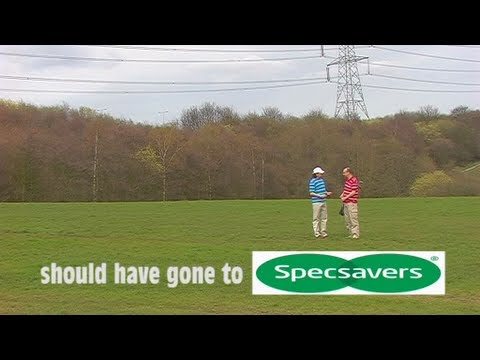 specsavers ad the golf course  specsavers ad the golf course