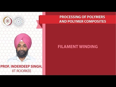 Lecture 24: Filament winding