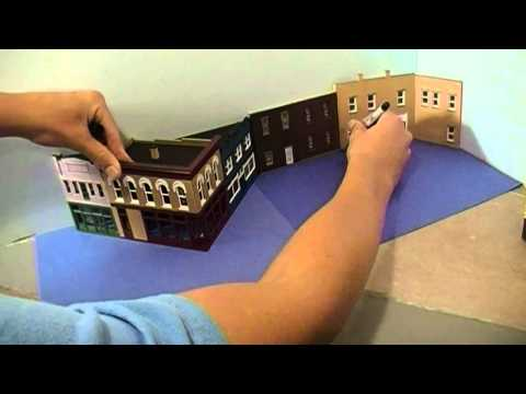 Building and Installing Sidewalks – HO Scale