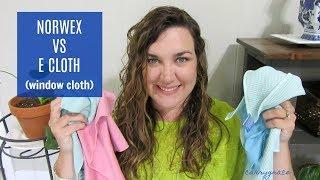 Norwex vs E Cloth - Window Cloth
