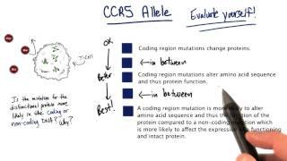 CCR5 - Tales from the Genome