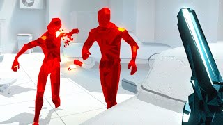 TIME TO GET SUPER HOT IN SUPERHOT VR! ~ Sponsored by Oculus