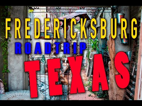 Fredericksburg,Texas - Roadtrip Vlog