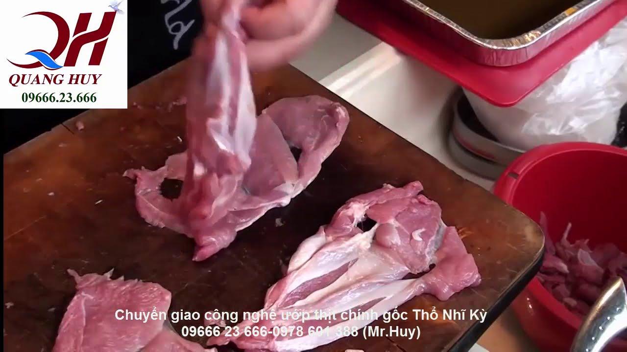 Cách tẩm ướp thịt doner kebab ngon nhất- tiết kiệm nguyên liệu nhất