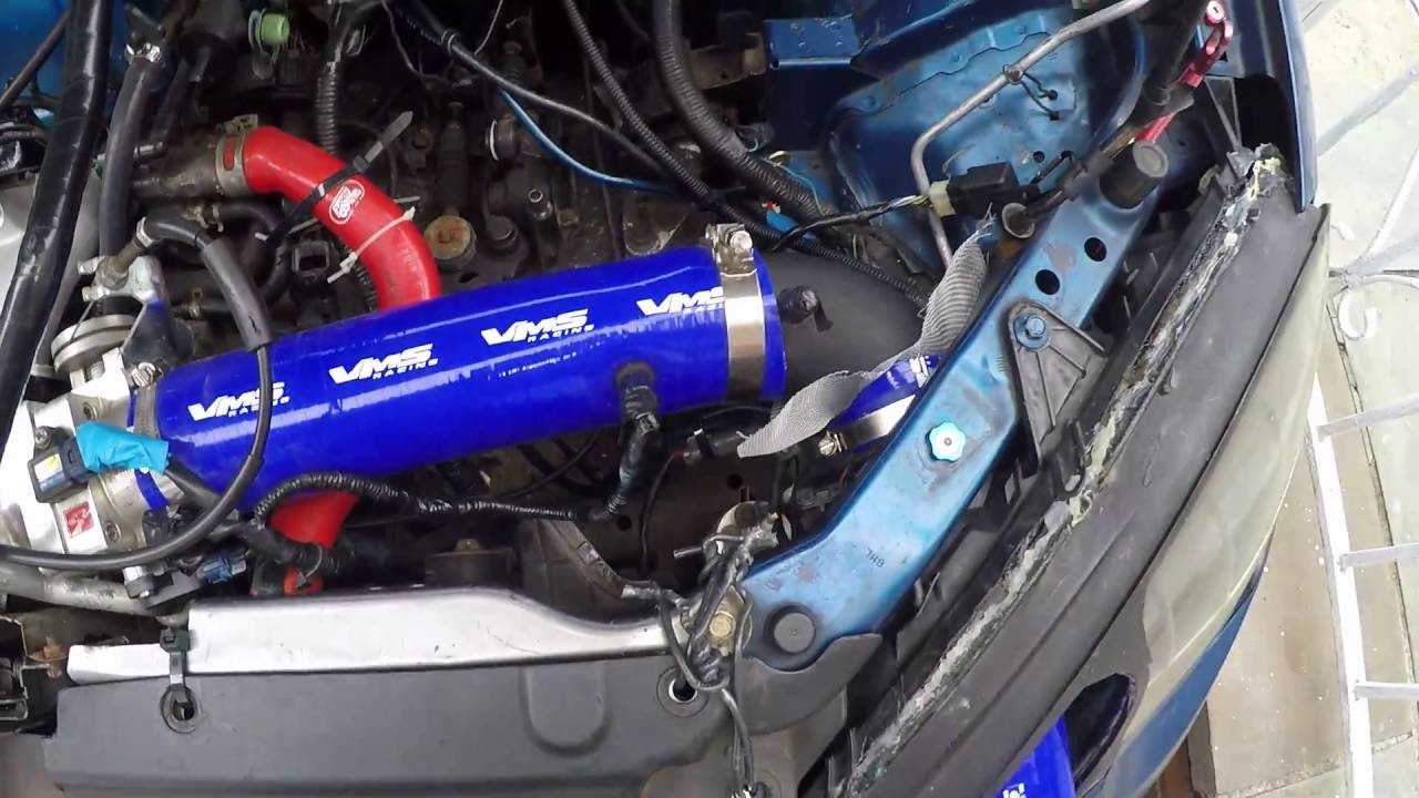 Diy Rsx Relocating Battery  Intake Headlight   Main Video