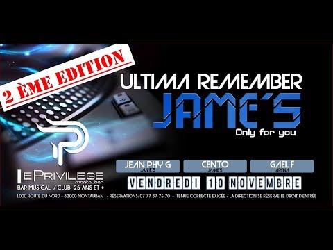 ULTIMA REMEMBER JAME'S 2017  [ 2H de Live ] Mp3