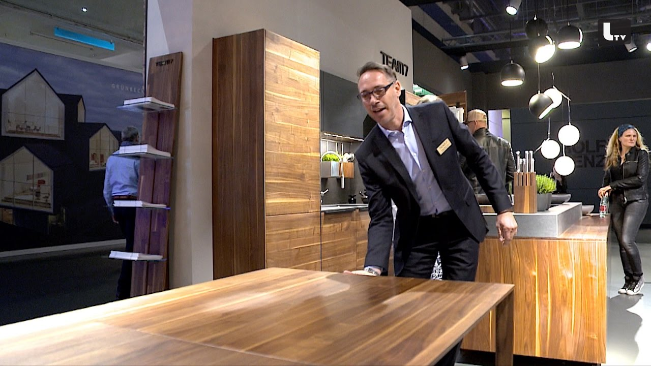 Team 7 wohnen interieur m belmesse 2017 lifestyle tv for Interieur team leipzig