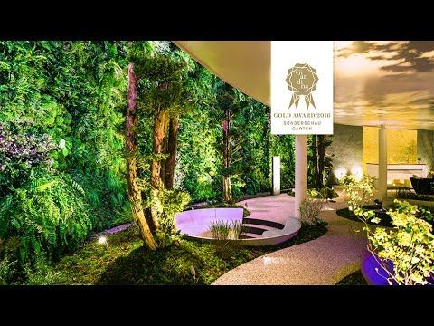 Awesome luxury landscape to interior design - architecture with vertical garden
