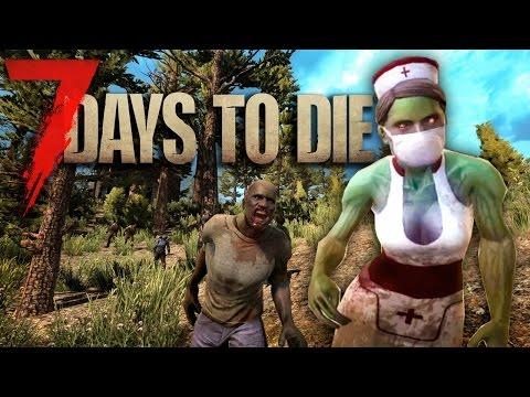 7 days to Die (Alpha 13.7) - Хардкорное Выживание с Зомби - день 1