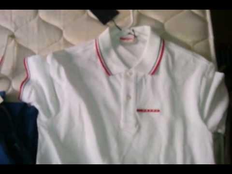 5206a0c57 NEW 2013 Prada Pique Polo SHIRT - quick look - YouTube