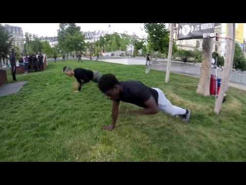 ATC Workout in Chatelet les halles ( Paris )