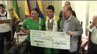 """XIX Juegos Deportivos Nacionales y III Paranacionales """"Carlos Lleras Restrepo"""""""