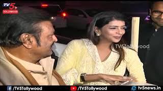 Mohan Babu Lakshmi Manchu at Amit Shah House | Manchu Vishnu Wife Viranica Reddy | TV5 Tollywood