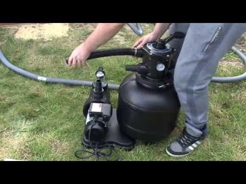 Installer une piscine hors-sol - montage du système de filtration (6/6)