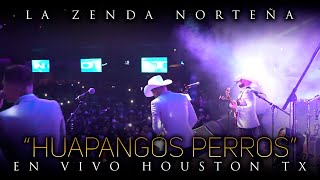 La Zenda Norteña - Intro, Huapangos Perros (En Vivo) Houston