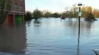Midland Michigan Flood, May 20, 2020 Raw footage
