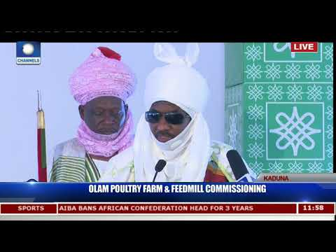 OLAM Poultry Farm & Feedmill Commissioning In Kaduna Pt.11