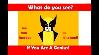 TEST YOUR BRAIN BY 12 ILLUSIONS
