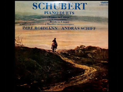 Schubert / Andras Schiff / Imre Rohmann, 1979: Fantasie in F Minor, D.940 (Op. posth. 103)