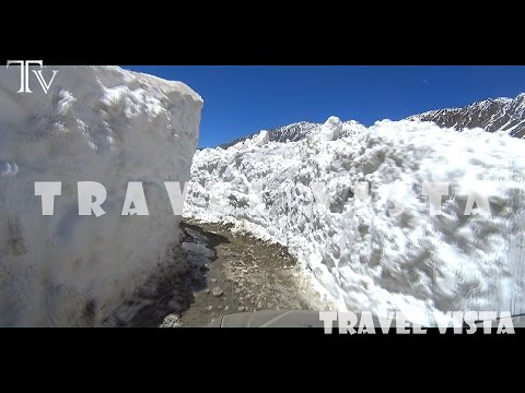 Manali to Kaza Road - Himalayan Mountain Roads 4K video