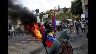 Venezuela: decenas de heridos en protestas thumbnail