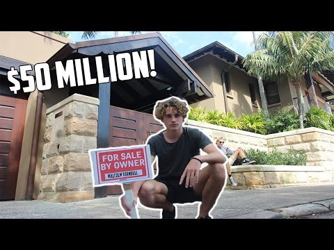 SELLING THE AUSTRALIAN PRIME MINISTERS MANSION! ($50 Million House)