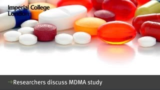Researchers discuss MDMA study